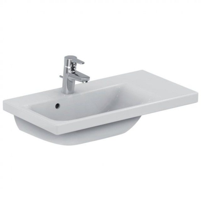 Lavoar Ideal Standard Connect Space cu platforma dreapta 70x38 cm