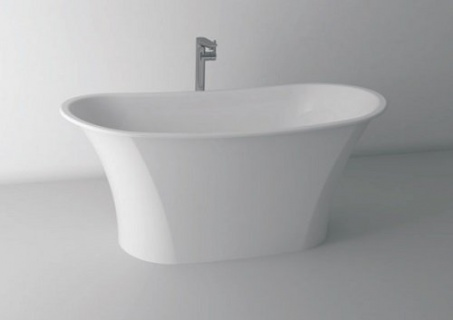 Cada Cast Marble Rimini freestanding 158x69x65 cm