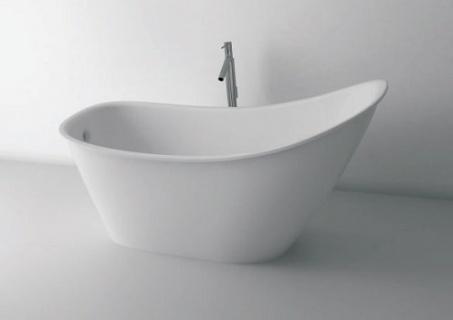 Imagine Cada Cast Marble Bergamo Freestanding 158x73x78 Cm