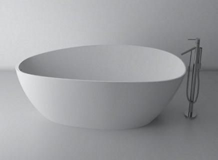 Imagine Cada Cast Marble Praga Freestanding 156x71x56 Cm