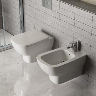 Capac wc Ideal Standard cu inchidere lenta Esedra 44x36 cm