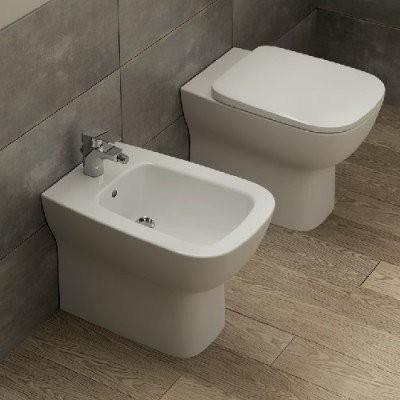 Vas wc Ideal Standard Esedra cu montaj pe pardoseala 36x54 cm