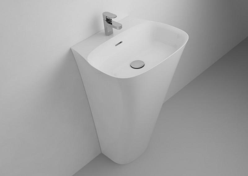 Lavoar Cast Marble Paglia Freestanding 52 x 45 x H85 cm