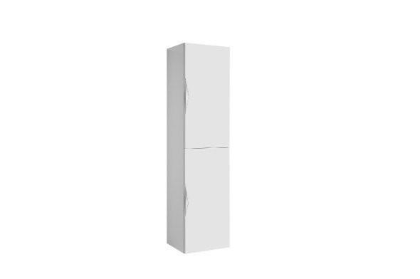 Dulap Gala Agata tip coloana reversibil alb lucios 35x30x140 cm