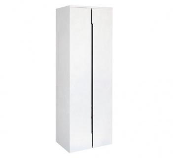 Dulap suspendat dublu Oristo Silver 50 x 35 x 144 cm, alb lucios imagine