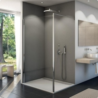 Cabina dus Walk-in SanSwiss Fun 800 x H2000