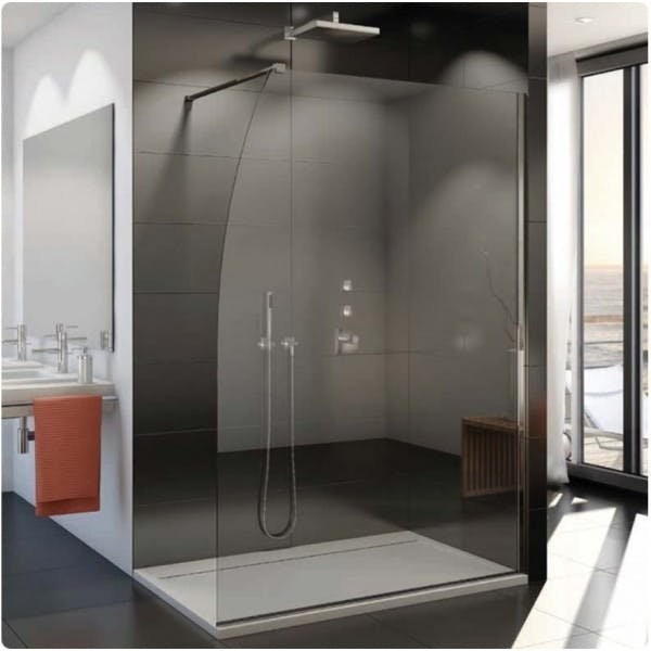 Cabina dus Walk-in SanSwiss Easy STR4PS 120 x H200 cm