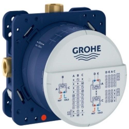 Set preinstalare pentru termostat Grohe Rapido Smartbox Universal , cu 3 iesiri