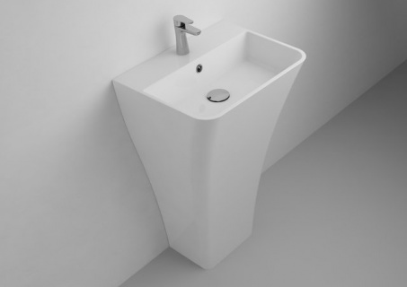 Lavoar Cast Marble Tanaro Freestanding 50 x 40 x H85 cm
