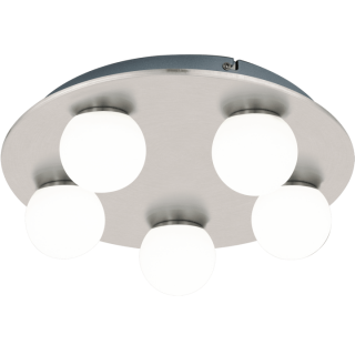 Aplica Eglo Mosiano LED 5 x 3.3W crom mat imagine