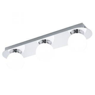Aplica Eglo Mosiano LED 3 x 3.3W crom-alb