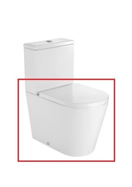 Vas WC Roca Inspira monobloc cu dubla evacuare 37 x 60 x H76 cm
