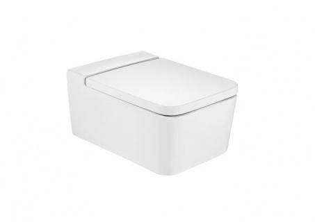 Vas WC Roca Inspira Rimless suspendat 37 x 56 x H44 cm