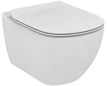 Set PROMO vas WC Ideal Standard Tesi cu capac slim