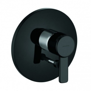 Baterie cada Kludi Zenta cu montaj incastrat, culoare negru