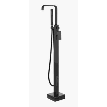 Baterie cada freestanding Besco Modern I culoare negru mat