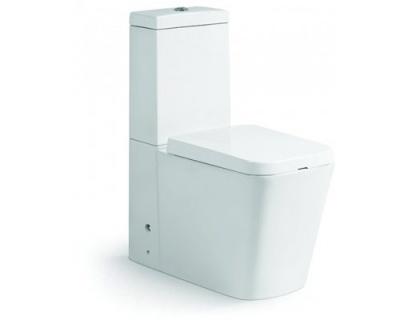 Set PROMO Dalet Square rezervor,vas wc si capac cu inchidere lenta imagine