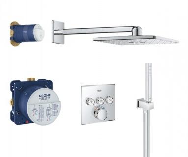 Sistem de dus Grohe Grohtherm SmartControl cu baterie termostatata imagine