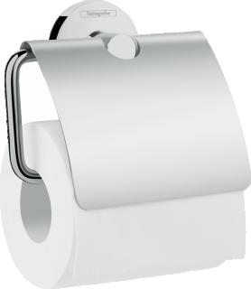 Suport hartie igienica cu aparatoare Hansgrohe Logis Universal, crom