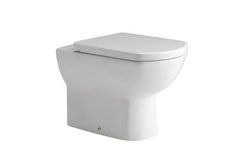 Vas WC Gala Smart pe pardoseala lipit de perete 35 x 55 cm