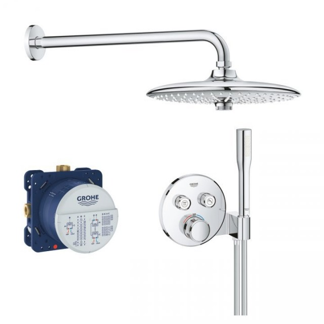 Set de dus Grohe Grohtherm SmartControl Perfect