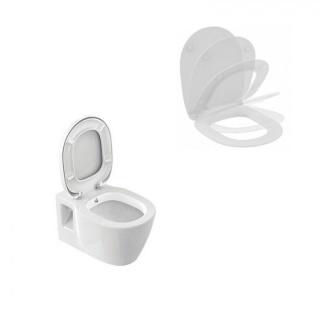 Set PROMO vas WC suspendat cu functie de bideu si capac wc soft-close Ideal Standard imagine