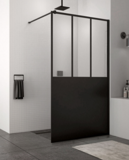 Imagine Cabina Dus Walk-in Sanswiss Easy Loft 69, 140 X H200 Cm