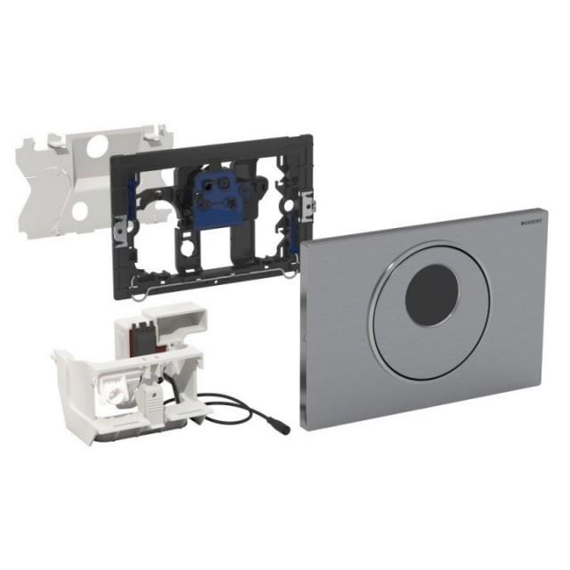 Clapeta de actionare WC Geberit Sigma10 electronica si manuala (UP320), 220 V
