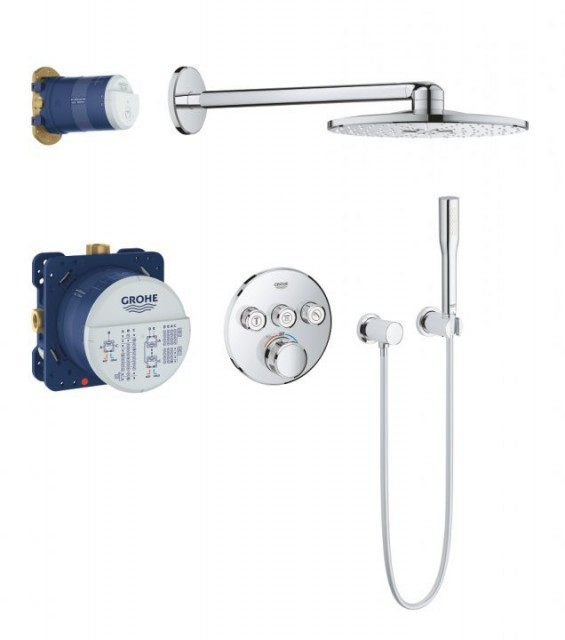 Sistem dus Grohe Grohtherm SmartControl Shower cu Rainshower 310