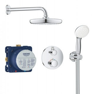 Set dus Grohe Grohtherm Perfect Tempesta 210