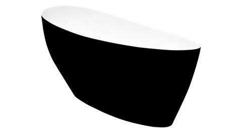 Cada free-standing Besco Keya 165x75cm exterior negru