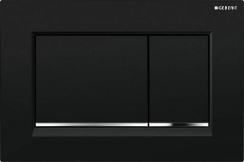 Clapeta actionare Geberit Omega30 negru