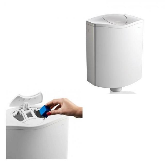 Rezervor WC Geberit AP116 cu compartiment pentru pastila odorizanta