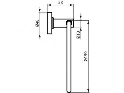 Inel portprosop Ideal Standard IOM