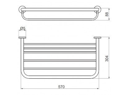 Raft portprosop Ideal Standard IOM