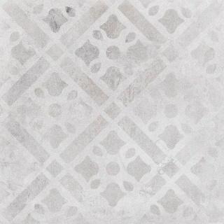 Decor ceramic Sintesi Italia, Atelier Bianco Decoro 2 cm, 60,4x60,4 cm imagine