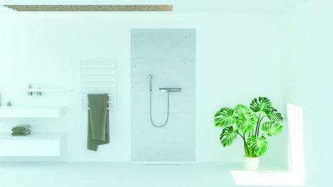 Panou decor Sanotechnik, SanoWall Alb 210x105x0,10 cm imagine