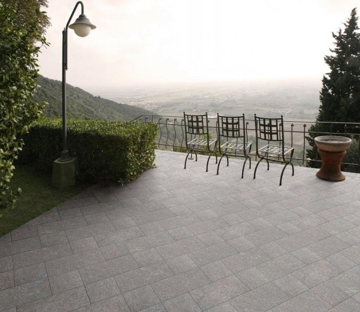 Gresie portelanata, Sintesi Italia Contea Grigio 40,4x20 cm