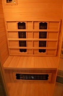 Sauna cu infrarosu Sanotechnik Punto 90 x 90 x 190 cm