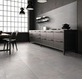 Gresie portelanata Abitare, Trust Grey 60,4x30 cm