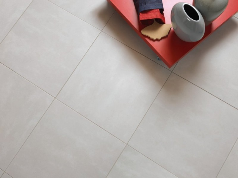 Gresie portelanata Sintesi, Tribeca Argento 35x35 cm