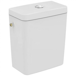Rezervor WC Ideal Standard Connect CUBE , 3/6 L, dubla actionare ,alimentare laterala