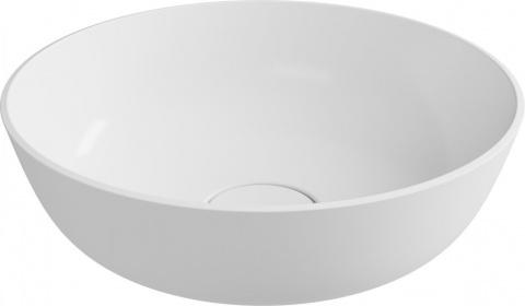 Lavoar rotund Cast Marble Alessia Round Ø 40 cm x H15,1 cm