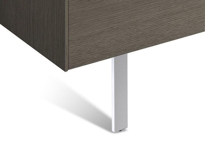 Set picioare optionale Roca Inspira (2 buc) pentru mobilier H19,7 cm