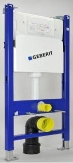 Set PROMO Rezervor cu cadru ingropat Geberit Delta UP100 cu sistem fixare si clapeta alba