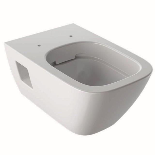Vas WC suspendat Geberit Selnova Rimless Square 54x35xH33 cm