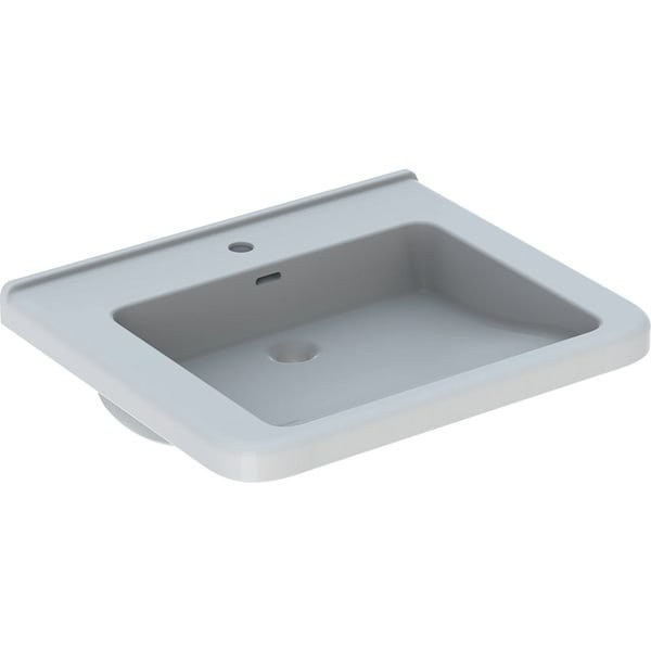 Lavoar suspendat Geberit Selnova Comfort Square 65x55xH16 cm