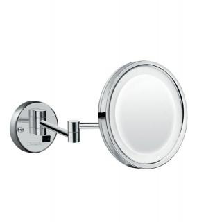 Oglinda cosmetica Hansgrohe Logis Universal cu lupa si led
