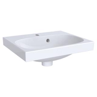 Lavoar Geberit Acanto preaplin asimetric 45x38 cm