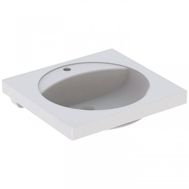Lavoar Geberit Preciosa cu blat 60x55xH20 cm fara preaplin